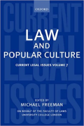 Cover of Current Legal Issues Volume 7: Law and Popular Culture