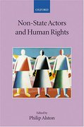 Cover of Non-State Actors and Human Rights