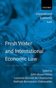 Cover of Fresh Water and International Economic Law