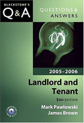 Cover of Blackstone's Q&A: Landlord and Tenant 2005 - 2006