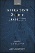 Cover of Appraising Strict Liability