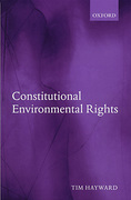 Cover of Constitutional Environmental Rights