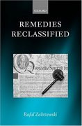 Cover of Remedies Reclassified
