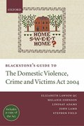 Cover of Blackstone's Guide to The Domestic Violence, Crime and Victims Act 2004
