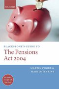 Cover of Blackstone's Guide to the Pensions Act 2004