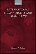 Cover of International Human Rights and Islamic Law