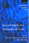 Cover of Human Rights and International Trade