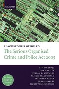 Cover of Blackstone's Guide to the Serious Organised Crime and Police Act 2005