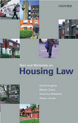 Cover of Text and Materials on Housing Law