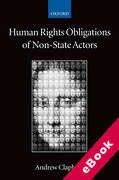 Cover of Human Rights Obligations of Non-State Actors (eBook)