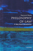 Cover of Philosophy of Law: A Very Short Introduction