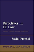 Cover of Directives in EC Law