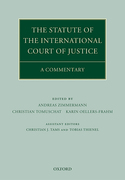 Cover of The Statute of the International Court of Justice: A Commentary