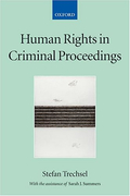 Cover of Human Rights in Criminal Proceedings