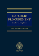 Cover of EC Public Procurement Law: Case Law and Regulation