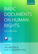 Cover of Basic Documents on Human Rights 5th ed