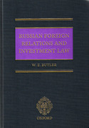 Cover of Russian Foreign Relations and Investment Law