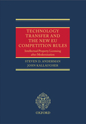 Cover of Technology Transfer and the New EU Competition Rules
