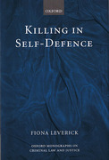 Cover of Killing in Self-Defence