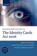 Cover of Blackstone's Guide to The Identity Cards Act 2006