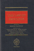 Cover of Law of Privilege