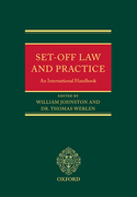 Cover of Set-Off Law and Practice: An International Handbook
