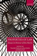 Cover of Properties of Law: Essays in Honour of Jim Harris