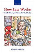 Cover of How Law Works: The Machinery and Impact of Civil Justice