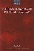 Cover of Defining Terrorism in International Law