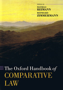 Cover of The Oxford Handbook of Comparative Law