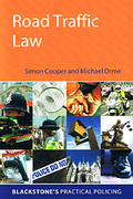 Cover of Road Traffic Law