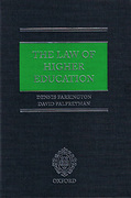Cover of The Law of Higher Education