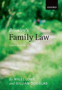 Cover of Bromley's Family Law 10th ed
