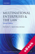 Cover of Multinational Enterprises and the Law (eBook)