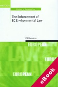 Cover of The Enforcement of EC Environmental Law (eBook)