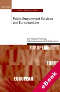 Cover of Public Employment Services and European Law (eBook)