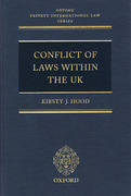 Cover of Conflict of Laws Within the UK