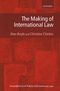 Cover of Making of International Law