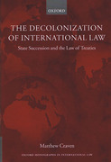 Cover of Decolonization of International Law, State Succession and the Law of Treaties