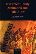 Cover of Investment Treaty Arbitration and Public Law