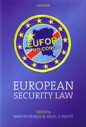 Cover of European Security Law