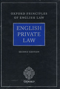 Cover of English Private Law