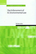 Cover of The Enforcement of EC Environmental Law
