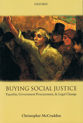 Cover of Buying Social Justice: Equality, Government Procurement, & Legal Change