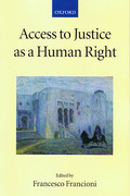 Cover of Access to Justice as a Human Right