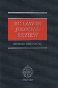 Cover of EC Law in Judicial Review