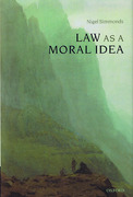Cover of Law as a Moral Idea