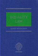 Cover of Equality Law
