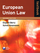 Cover of European Union Law Textbook