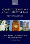 Cover of Constitutional and Administrative Law: Text with Materials